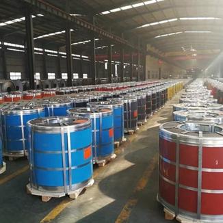 آهن گالوانیزه از پیش رنگ شده یا PPGI آماده ارسال عمده به مشتریان در سراسر جهان است