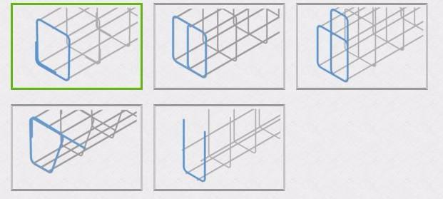 انتخاب قفس های تقویت کننده براکت