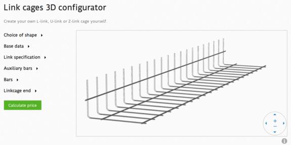 پیوندهای قفس پیکربندی 3D