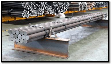 میله های سنگ زنی فولادی