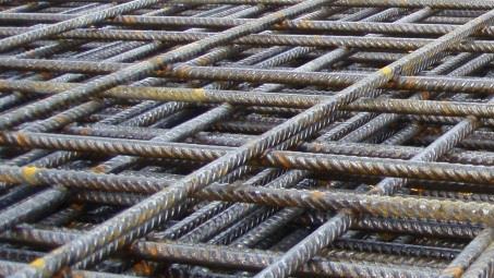 مش فولادی سازه ای برای فونداسیون