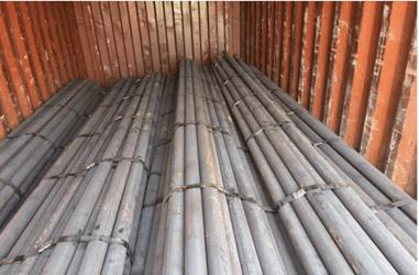 میله های سنگ زنی فولادی آماده حمل در بسته نرم افزاری است.