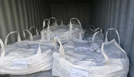 توپ های سنگ زنی فولادی کوره اي بسته بندی شده و آماده حمل هستند.