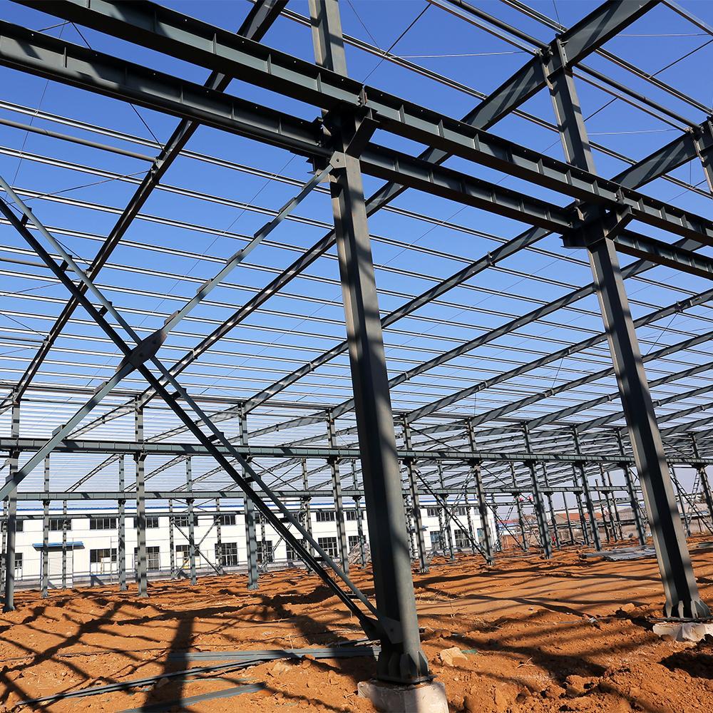 طراحی ساختمان فولادی