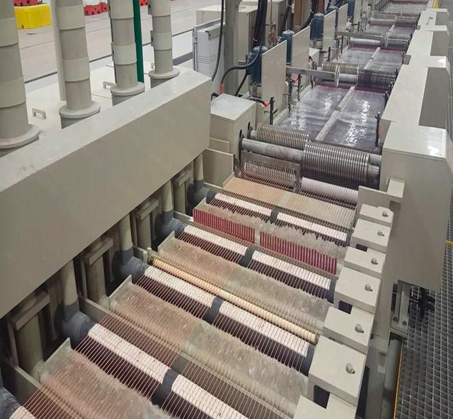 خط تولید کارخانه فولاد