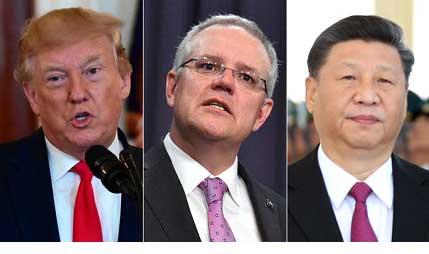 استرالیا که پیشتر تلاش میکرد در جدال آمریکا-چین در موضع میانه و وسط باقی بماند، این بار خود درگیر جدال شده است