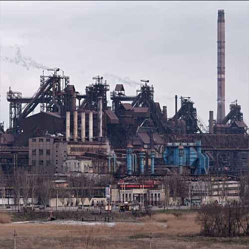 افزایش میزان خروجی شرکت تولید فولاد آزوفاستال اوکراین