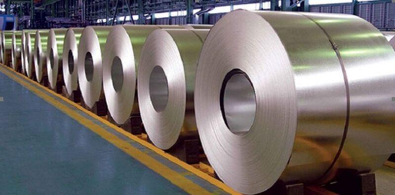 ورق گالوانیزه 0.5 رول 1250 فولاد امیر کبیر کاشان