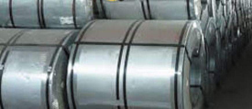 ورق گالوانیزه 1.25 رول 1250 فولاد امیر کبیر کاشان